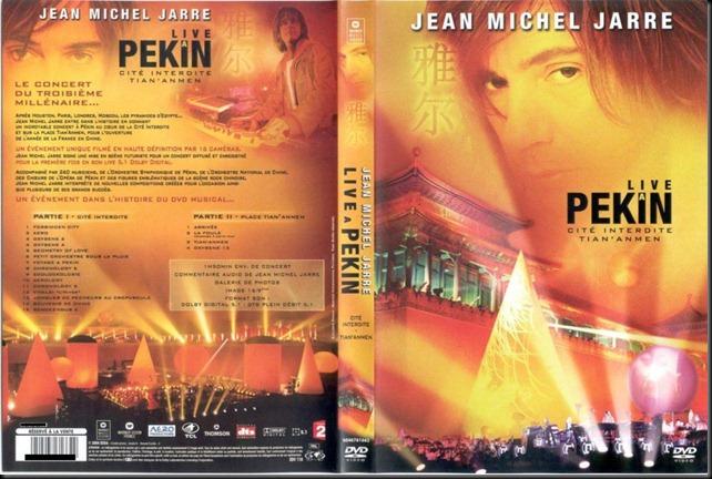 jean michel jarre - live a pekin (portada)