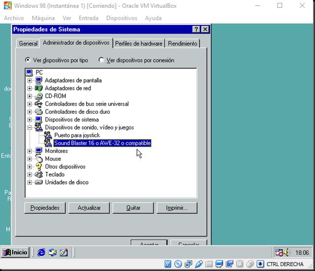 Instalar Windows 9x En Virtualbox